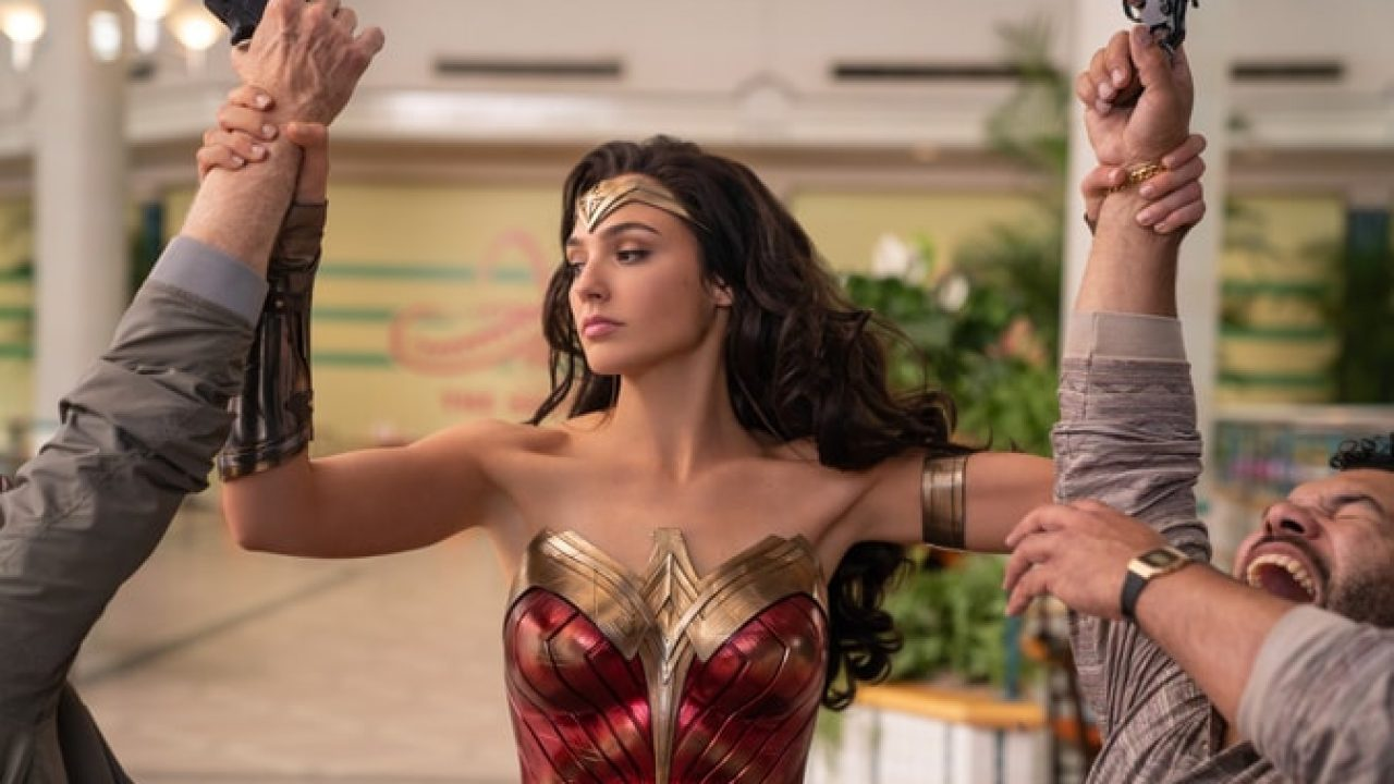 Adegan di film Wonder Woman 1984.